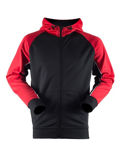 FH340 Finden+Hales Panelled Sports Hoodie